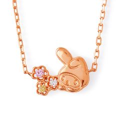 My Melody x THE KISS Sweet Bouquet Necklace SANRIO MADE IN JAPAN