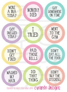 Adulting Sticker Set | Erin Condren Horizontal Vertical Life Planner | Adult Life Stickers