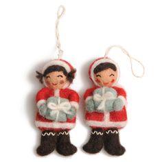 #Christmas #decoration #felt | Dille & Kamille