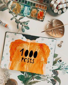 Mein 1000. Post auf Instagram - WOW. Danke, dass du meine Kreativreise begleitest. ♥️