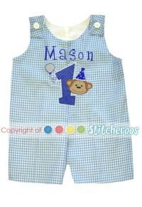 Baby Boys Birthday Clothes