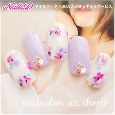 White n purple