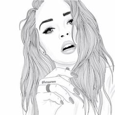 "paintmysoulwhite:  ""follow me on instagram ❤️  @alysiatay_ + @drawings_by_aly  (not my outline)  """