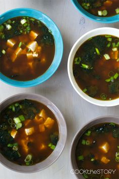 Quick Miso Soup from @cookincanuck
