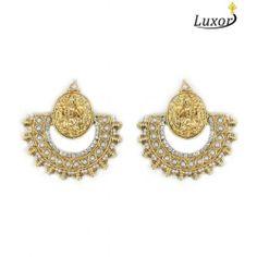 Luxor Dipika's Ramleela Pearl Earrings 3122
