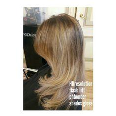 #redken #balayage #phbonder #HDresolution #stylist nathalie #shades gloss