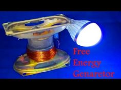 How to make 100% free energy generator without battery with the help of speaker   home invention - YouTube