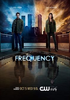 Don't miss the series premiere of #Frequency Wednesday, October 5 at 9/8c on The CW.