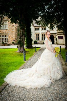 Hannah Parkinson Wearing Antoinette Wedding Dress By Ian Stuart