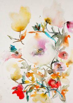 "Saatchi Art Artist Karin Johannesson; Painting, ""Gardenia X"" #art"