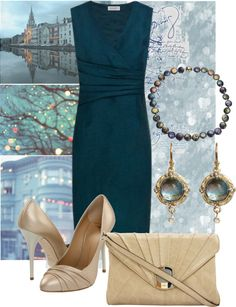 """Soft Autumn Summer Party"" by nelea ❤ liked on Polyvore"