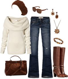 """Casual Fall"" by masilly1 on Polyvore"