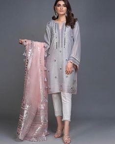 Afsanah (Two Piece - Restocked) Beautiful Pakistani Dresses, Pakistani Formal Dresses, Pakistani Fashion Party Wear, Pakistani Dress Design, Pakistani Outfits, Indian Outfits, Indian Fashion, Pakistani Clothes Casual, Pakistani Bridal