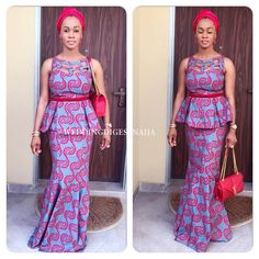 65+ Best The Ankara dresses along with proper hairstyles