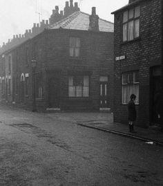 terraced:  A Lancashire street corner, 1969 [x]