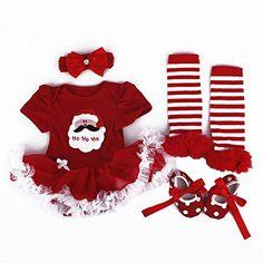 TANZKY Baby Girls' Santa Costume 4PC Headband Legging Shoe US Size 12M Light Red TANZKY http://www.amazon.com/dp/B00NJLA6OM/ref=cm_sw_r_pi_dp_go2lub0RZQSVC