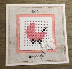 Cross Stitch Beginner, Mini Cross Stitch, Cross Stitch Cards, Cross Stitching, Cross Stitch Patterns, Knitting Patterns, Embroidery Cards, Sewing Cards, Plastic Canvas Crafts