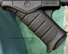 The Stark Express Grip is a new angled fore grip for the AR-style rifle. Stark Equipment was also showing their new MultiCam pieces at 2013 SHOT Show. Ar Pistol Build, Ar15 Pistol, Ar Build, Weapons Guns, Guns And Ammo, Custom Ar, Rifle Accessories, Ar 15 Builds, Battle Rifle