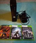 Microsoft Xbox 360 Black Matte Slim Console WITHOUT KINECT Very Good Condition