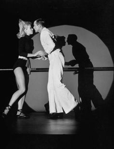 Vera-Ellen & Gene Kelly in one of the most romantic dance sequences ever. On The Town, 1949
