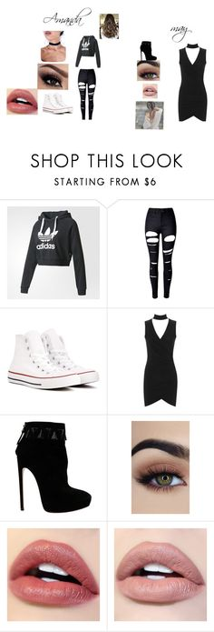 """""""Untitled"""" by jaiisome on Polyvore featuring adidas, WithChic, Converse, WearAll and Alaïa"""