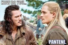 Oh the Legolas hair jokes.