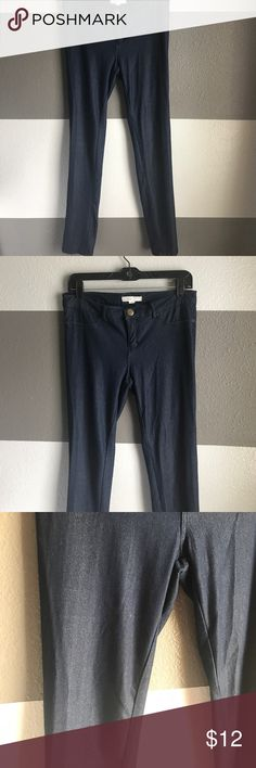 XXI Jeggings XXI Dark wash jeggings. Size L. Perfect for all physiques. **Small pen sized discoloration (see pic). Price reduced 👍 Forever 21 Jeans Skinny