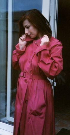Rubber Raincoats, Raincoats For Women, Rain Wear, Mantel, Women Wear, Macs, Womens Fashion, How To Wear, Cotton