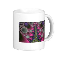 Digital Road Coffee Mug!  **New store!  Never been posted!  Find out more at http://www.zazzle.com/fractalsbydww25921*  Have a great day!
