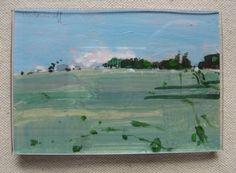 FRIDGE MAGNET Original Landscape Painting on Paper by Paintbox, $15.00