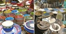 The Rondebosch Potters' Market is a popular, colourful ceramics market held twice a year at Rondebosch Park. Perfect for finding Christmas and other gifts.