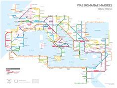 roman road subway map