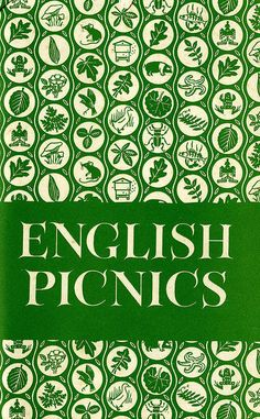 English Picnics    English Picnics by Georgina Battiscombe. Published by the Country Book Club, London in 1951. Includes chapters on 'What is a Picnic?'; 'Tudor & Stuart Picnics'; and 'The Nursery Goes Picnicking'.