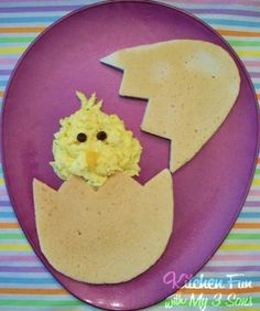 Would be cute for Easter breakfast.