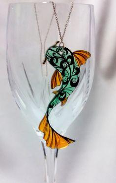 Shrink Plastic Necklace - nice