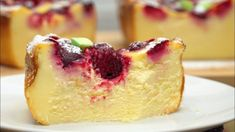 tvarohový_koláč-1024x576-623x350 Czech Recipes, Russian Recipes, Breakfast Recipes, Dessert Recipes, Desserts, Easy Eat, Pastry Cake, Flan, Cheesecake Recipes