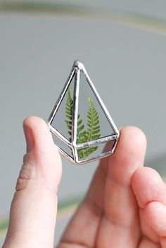 This mini terrarium is cute enough to wear. So you should do just that.