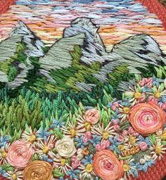 "turecepcja:  ""Embroidery by Rachael Dobbinsfacebook.com/usedthreads/  """