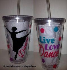 Dance Tumbler