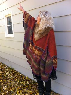 """https://www.etsy.com/shop/MoonBearStudio Up-cycled Clothing made in Traverse City, Michigan by Jennifer Moon. Up-cycled clothing is green, environmentally and socially conscious. My creations could also be called """"wearable art"""" because each piece is so unique that it is one of a kind and can never be re-created."""