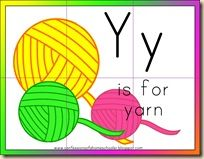 """We've been working hard over here to finish up our letter of the Week activities. And this week the Teeny Tot is working on the Letter Y for Yarn! Letter Y Memory Verse: """"You are My friends if you do whatever I command you. Preschool Literacy, Homeschool Kindergarten, Preschool Activities, Teaching Letters, Preschool Letters, Abc Alphabet, Learning The Alphabet, Letter Y Crafts, Letter Of The Week"""