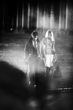 Behind the scenes at the Burberry Autumn/Winter 2012 campaign shoot