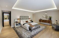 1508 London Park Crescent - luxury interior design, bedroom.