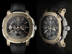 Burberry The Britain Automatic Chronograph unveiled via http://luxurylaunches.com/