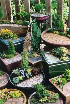 mini gardens galore