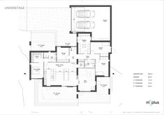 Vestbjerg | m²plus House Plans, Garage, Floor Plans, How To Plan, Inspiration, Future, Projects, Blueprints For Homes, Biblical Inspiration