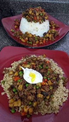 Filipino+Comfort+Bowl+(Giniling) recipe ground beef filipino food Filipino Comfort Bowl (Giniling) Recipe by Kellie Ro Ground Beef Recipes, Pork Recipes, Asian Recipes, Cooking Recipes, Healthy Recipes, Ethnic Recipes, Ground Beef Filipino Recipe, Easy Filipino Recipes, Vegetarian Recipes