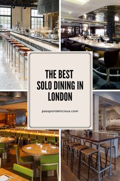 The best solo dining in London. Where to eat at the bar in London. The best London bar dining in restaurants. Check out our London Restaurants London Food, London Tips, Europe Destinations, Holiday Destinations, Bar Seating, Tasting Menu, Things To Do In London, Las Vegas Hotels, London Restaurants