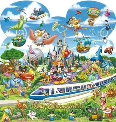 Walt Disney World ~ World of Magical Experiences.