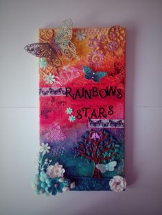 My first attempt at mixed media canvas.....